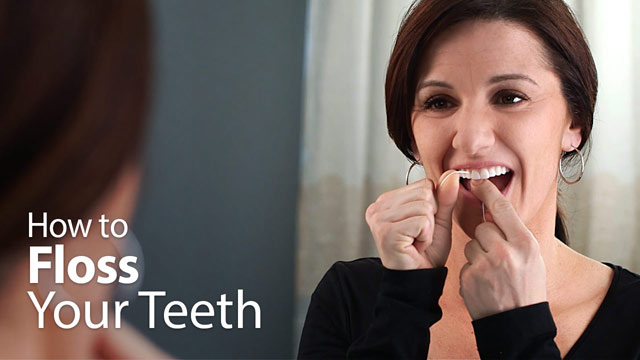How to Floss Your Teeth.