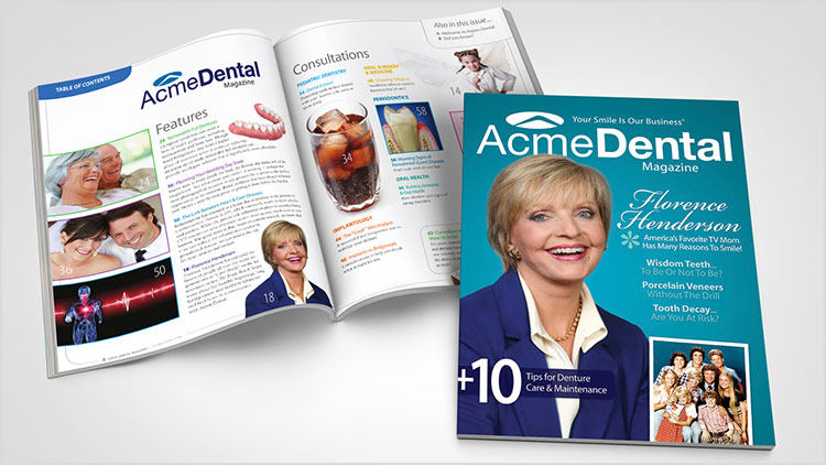 Custom Dental Magazines