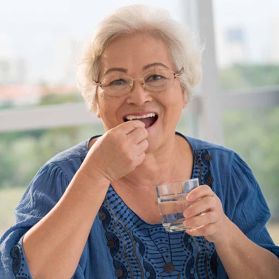 Premedicación con antibióticos para tratamientos dentales.